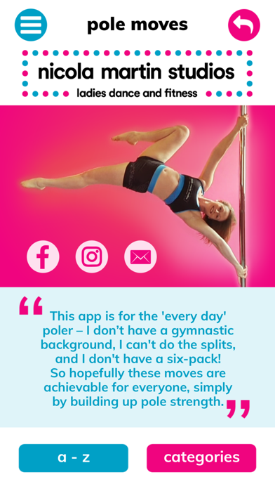 NMS Pole Fitness Moves screenshot 1