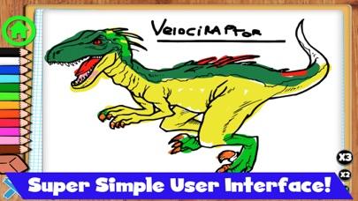 Coloring Dinos screenshot 5