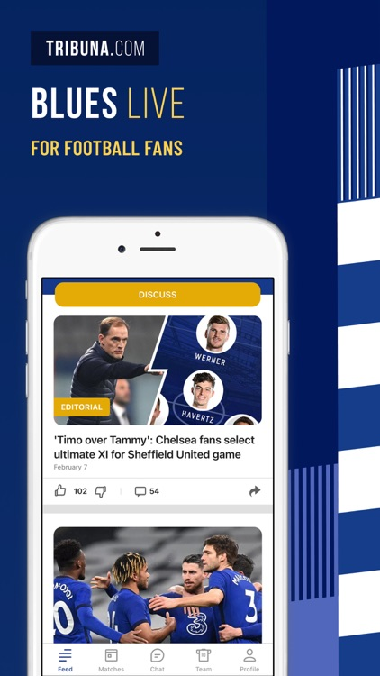Blues Live: unofficial fan app
