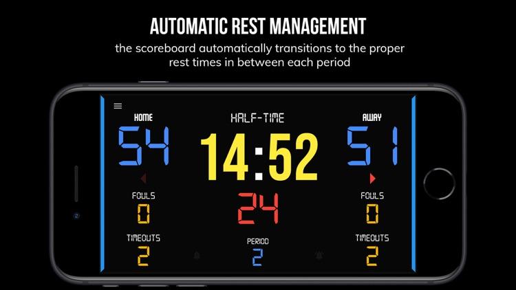 BT Scoreboard - Basketball screenshot-4