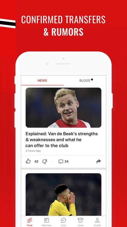 Manchester Live: Goals & News screenshot-5