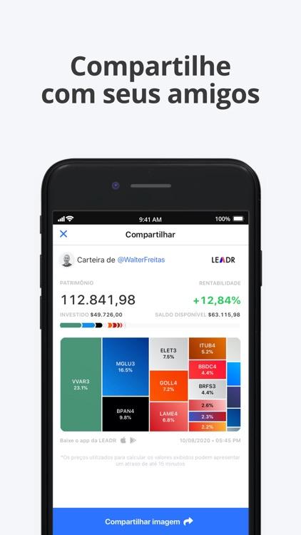 Leadr: Rede Social e Simulador screenshot-5