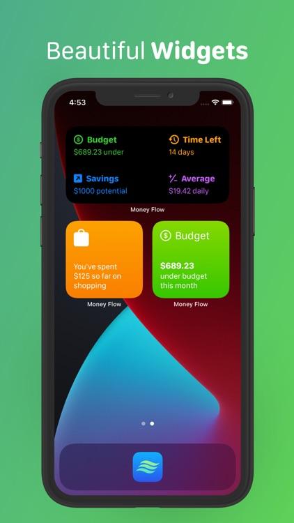 Money Flow - Expense Tracker screenshot-5