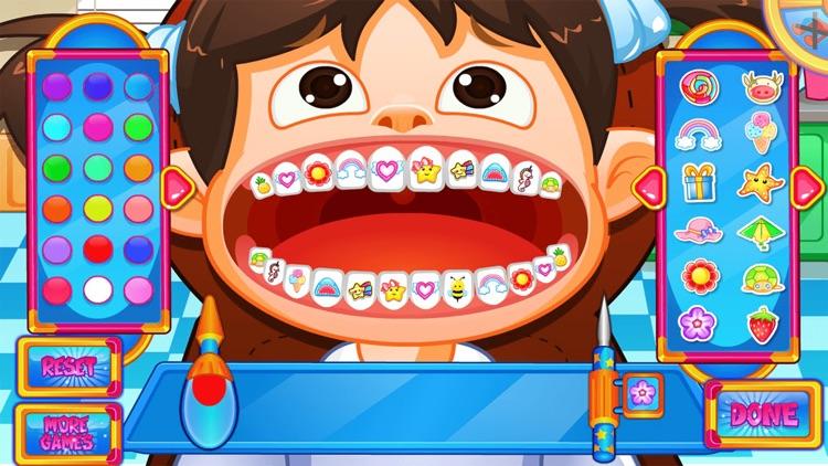Fun Mouth Doctor, Dentist Game screenshot-4