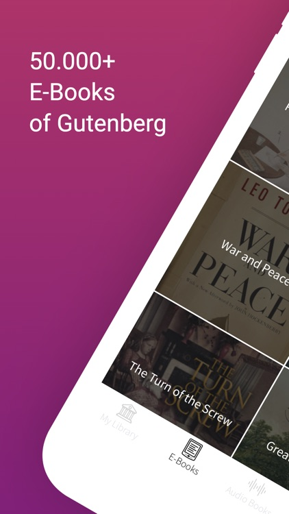 Gutenberger | eBook Reader screenshot-0