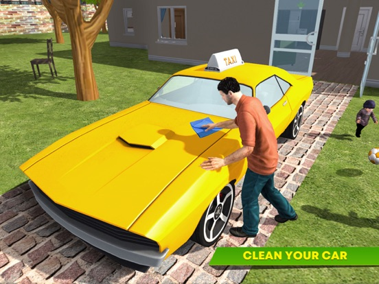 Virtual Single Dad Taxi Driver screenshot 9