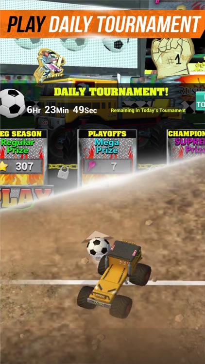 Monster Truck - Soccer Kings screenshot-3