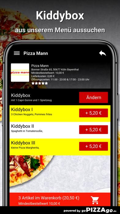 Pizza Mann Köln Bayenthal screenshot 5
