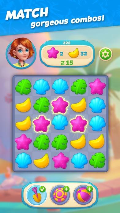 Hawaii Match-3 Mania: Puzzle screenshot 3