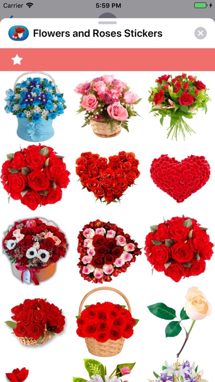 Flowers and Roses Stickers screenshot-9