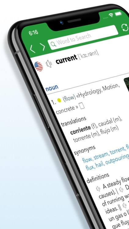 English Spanish Dictionary G. screenshot-8