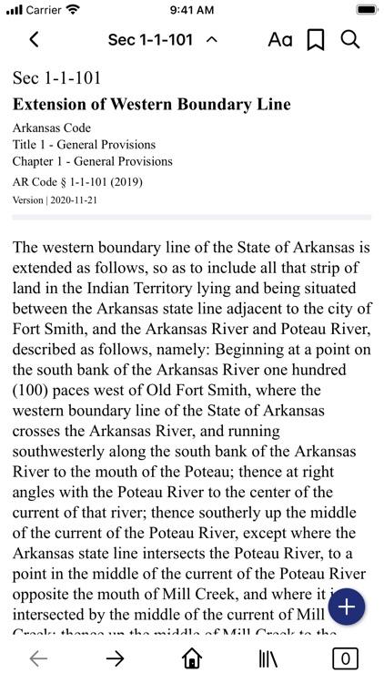 Arkansas Code (by PocketLaw)