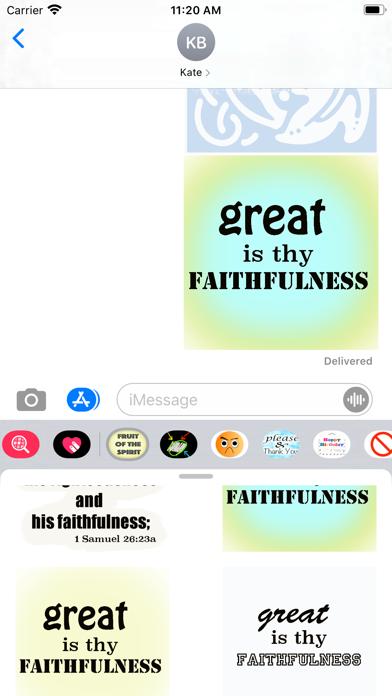 fruit of the spirit stickers screenshot 9