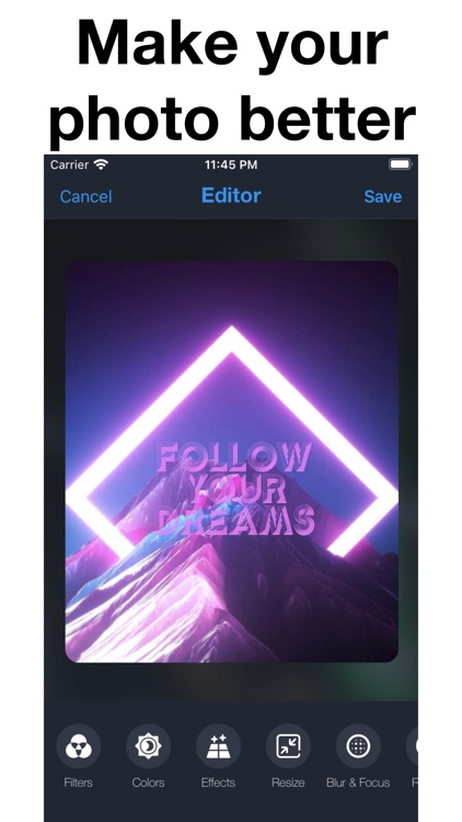 Photo Editor & Collage Effects