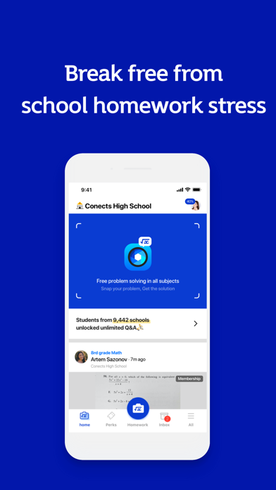 Conects Q&A: Fastest Math Help Screenshot