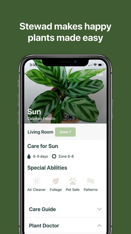 Steward: Plant Care Customized