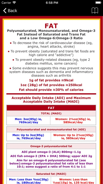 Omega-3 Fat Counter & Tracker screenshot-9