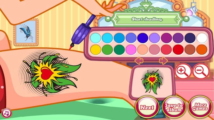 Tattoo Passion - Tattoo games screenshot-9