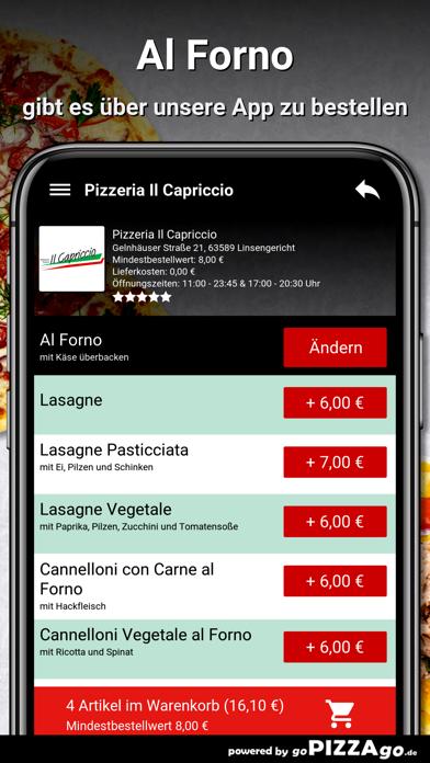 Il Capriccio Linsengericht screenshot 6