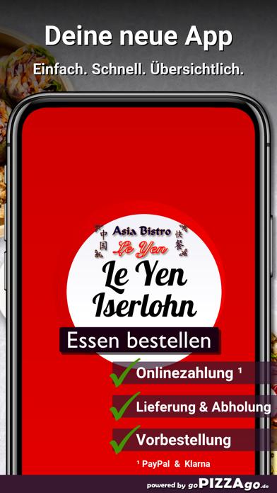 Asia Bistro Le Yen Iserlohn screenshot 1
