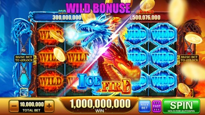 Cash Hoard Casino Slots Game Screenshot on iOS