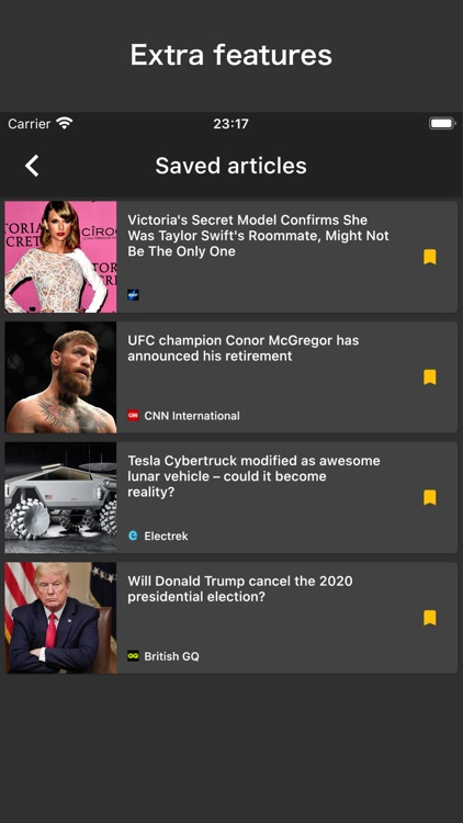 mattered | NEWS APP screenshot-3