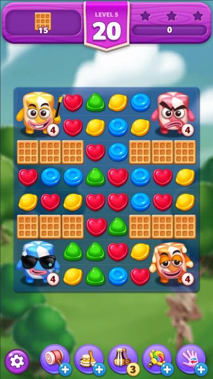 Lollipop2 & Marshmallow Match3 screenshot-0