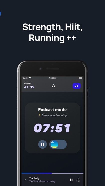 Shift - Workout with podcasts screenshot-3