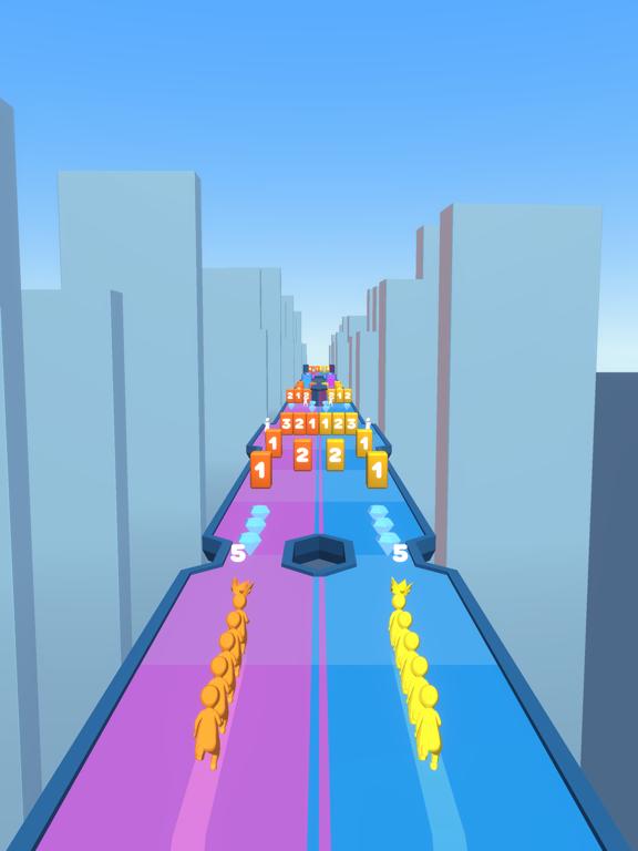 Crowd Snake Run screenshot 11