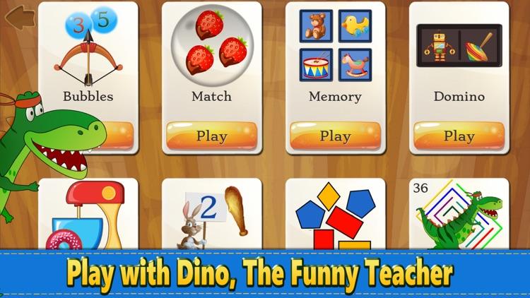 Dino Puzzle Kid Dinosaur Games screenshot-7