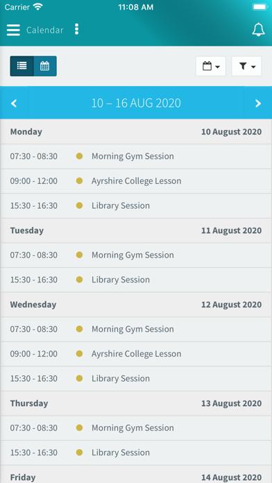 My Ayrshire College screenshot 3