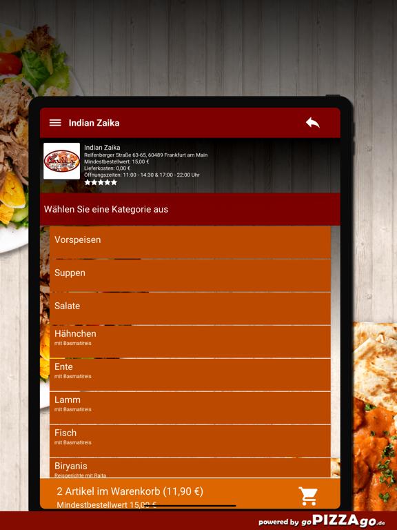 Indian Zaika Frankfurt am Main screenshot 8