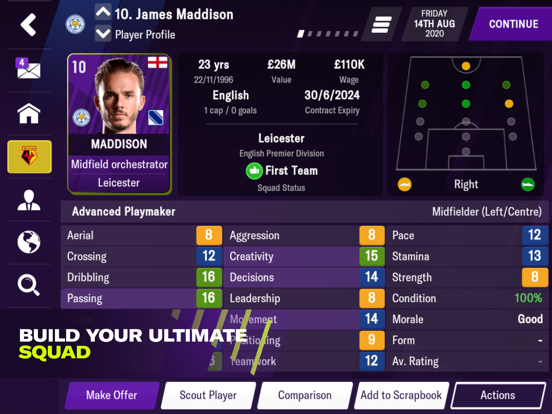 Football Manager 2021 Mobile Screenshots