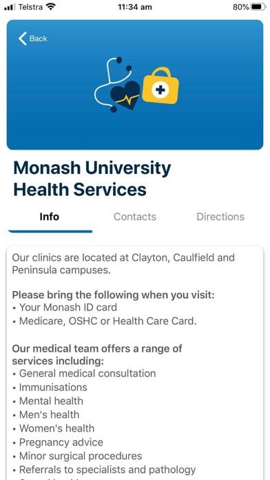 Monash bSafe screenshot 7