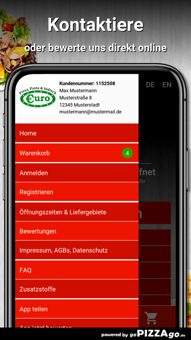 Euro-Pizza & Indisch Vöhringen screenshot 3