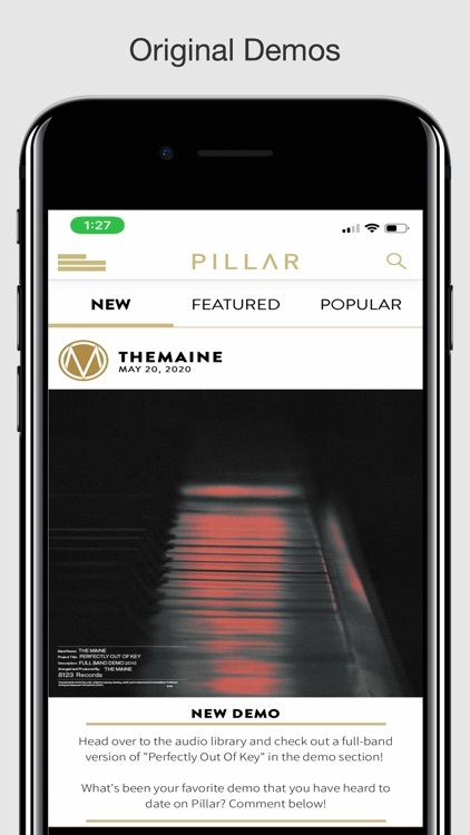 Pillar: Music Community screenshot-6