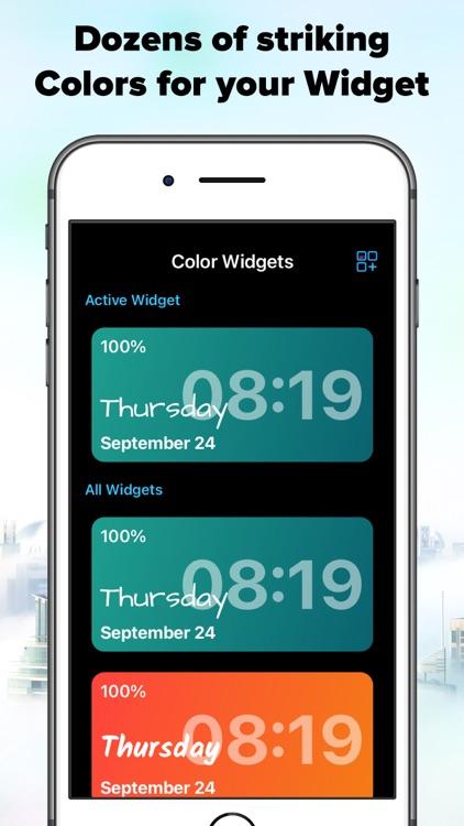 Widgetsmith - Color Widgets