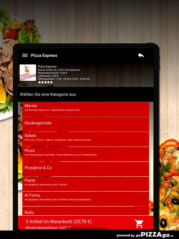 Pizza Express Emtinghausen screenshot 8