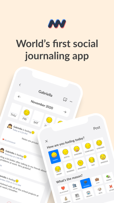 Download Moodwave - Social journal for Android