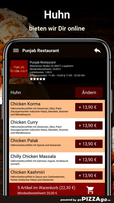 Punjab Restaurant Laupheim screenshot 5