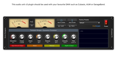 Drum Surgeon AUv3 Plugin Screenshot