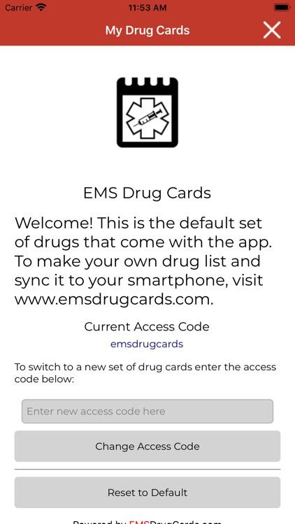 EMS Drug Cards screenshot-4