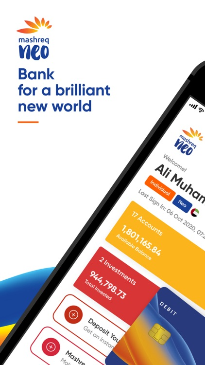 Mashreq Neo - Bank easy