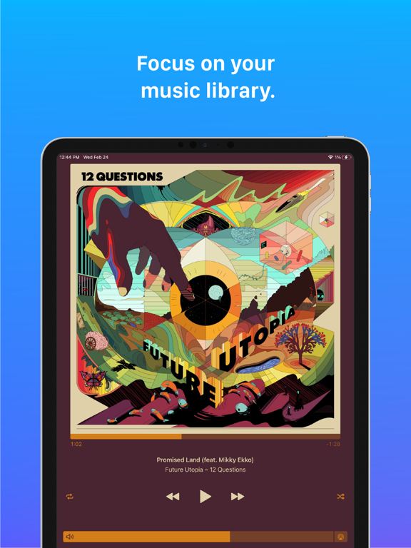 Cs: Music Player Screenshots