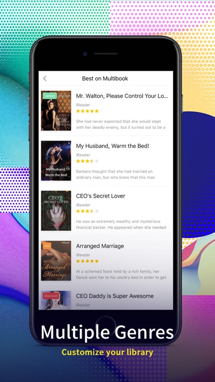 Multibook - Free Story screenshot-4