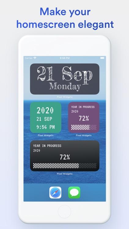 Pixel Widgets screenshot-3