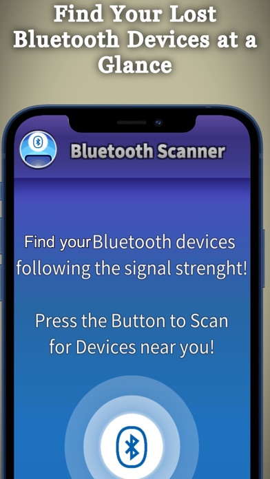 Bluetooth Scanner IO Screenshot
