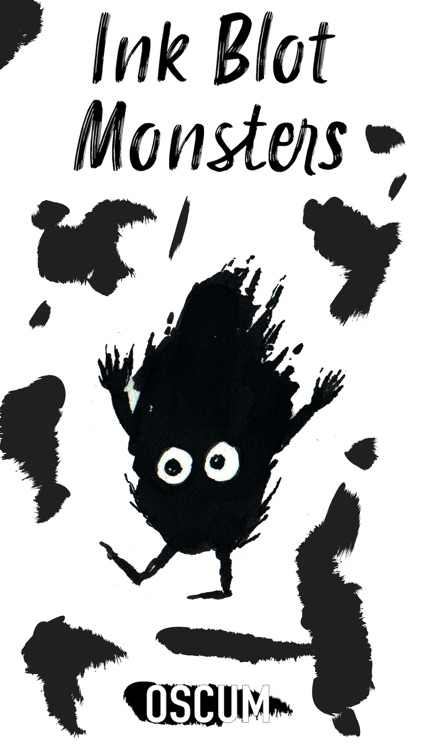 Ink Blot Monsters