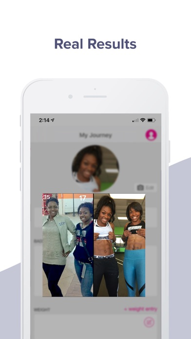 Jillian Michaels Fitness App Screenshot