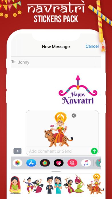 Navratri Stickers! screenshot 4